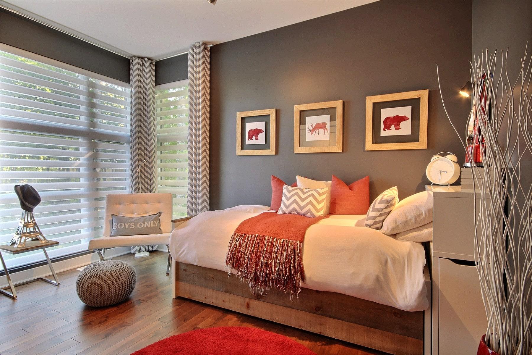 Design résidentiel / chambre à coucher