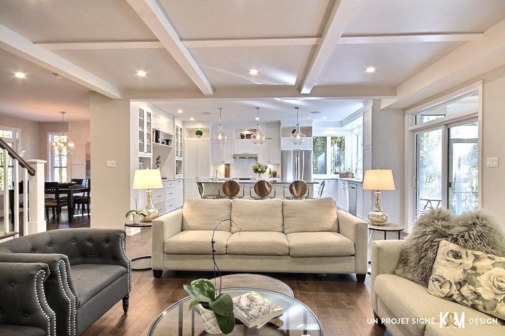 Design résidentiel / salle familiale