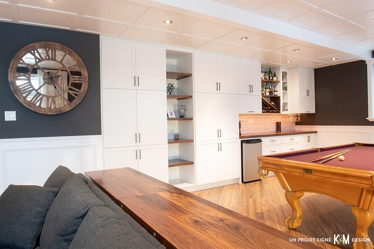 Design résidentiel / sous-sol
